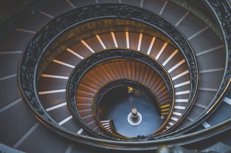 מדרגות היציאה ממוזיאון הוותיקן