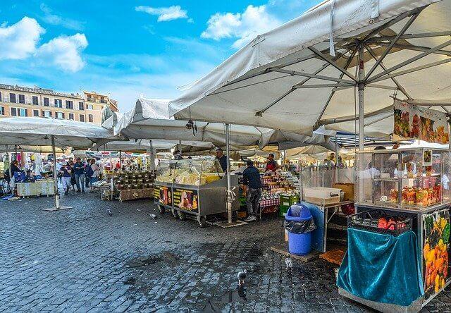 שווקים,מרכזי קניות וקניונים ברומא מומלצים למטייל הישראלי